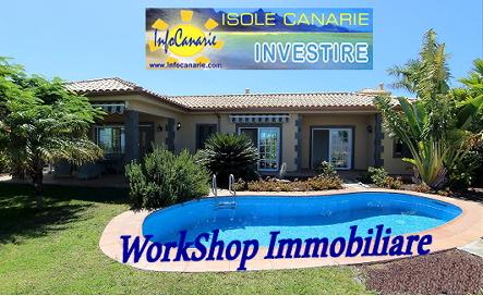 2020 Workshop Investimenti Immobiliari alle Canarie: GRAN CANARIA e TENERIFE