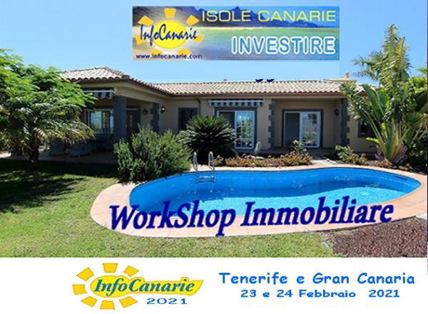 2021 Workshop Investimenti Immobiliari alle Canarie